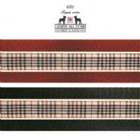 MARTINGALE DOG COLLAR - AUTHENTIC SCOTTISH BLACKBERRY TARTAN